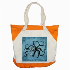 Vintage Octopus  Accent Tote Bag by Valentinaart