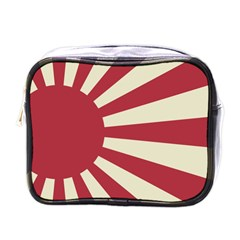 Rising Sun Flag Mini Toiletries Bag (one Side) by Valentinaart