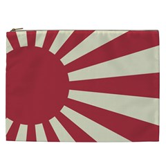 Rising Sun Flag Cosmetic Bag (xxl)