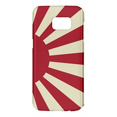 Rising Sun Flag Samsung Galaxy S7 Edge Hardshell Case