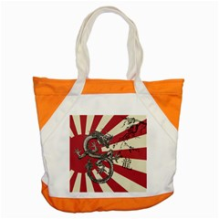 Rising Sun Flag Accent Tote Bag