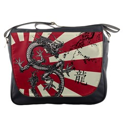 Rising Sun Flag Messenger Bag