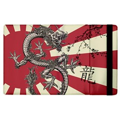 Rising Sun Flag Apple Ipad 3/4 Flip Case