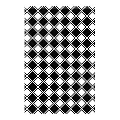 Square Diagonal Pattern Seamless Shower Curtain 48  X 72  (small)