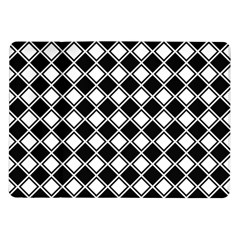 Square Diagonal Pattern Seamless Samsung Galaxy Tab 10 1  P7500 Flip Case