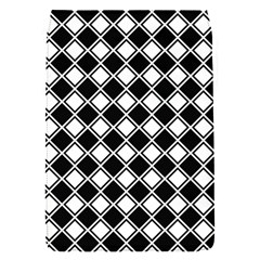 Square Diagonal Pattern Seamless Removable Flap Cover (s)