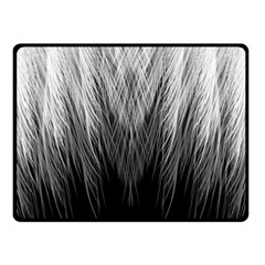 Feather Graphic Design Background Fleece Blanket (small)