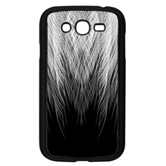 Feather Graphic Design Background Samsung Galaxy Grand Duos I9082 Case (black)