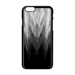 Feather Graphic Design Background Apple Iphone 6/6s Black Enamel Case by Nexatart