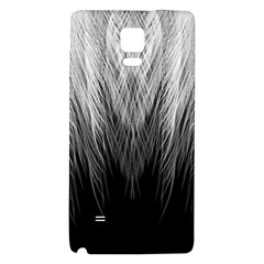 Feather Graphic Design Background Samsung Note 4 Hardshell Back Case
