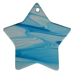 Jet Stream Star Ornament (two Sides) by WILLBIRDWELL