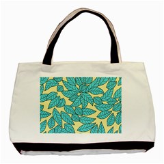Leaves Dried Leaves Stamping Basic Tote Bag (two Sides)