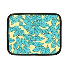 Leaves Dried Leaves Stamping Netbook Case (small)