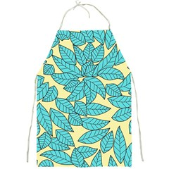 Leaves Dried Leaves Stamping Full Print Aprons