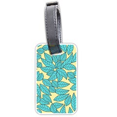 Leaves Dried Leaves Stamping Luggage Tags (one Side)