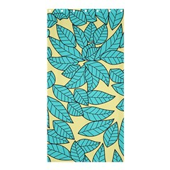 Leaves Dried Leaves Stamping Shower Curtain 36  X 72  (stall)