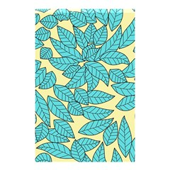 Leaves Dried Leaves Stamping Shower Curtain 48  X 72  (small)  by Nexatart
