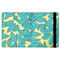 Leaves Dried Leaves Stamping Apple Ipad 3/4 Flip Case by Nexatart