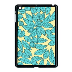 Leaves Dried Leaves Stamping Apple Ipad Mini Case (black) by Nexatart