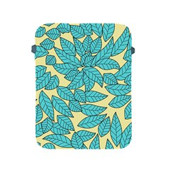 Leaves Dried Leaves Stamping Apple Ipad 2/3/4 Protective Soft Cases by Nexatart
