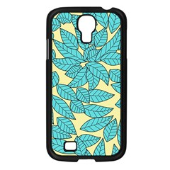 Leaves Dried Leaves Stamping Samsung Galaxy S4 I9500/ I9505 Case (black) by Nexatart