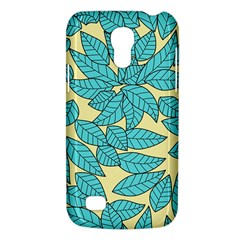 Leaves Dried Leaves Stamping Samsung Galaxy S4 Mini (gt I9190) Hardshell Case  by Nexatart