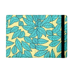 Leaves Dried Leaves Stamping Ipad Mini 2 Flip Cases by Nexatart