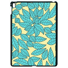 Leaves Dried Leaves Stamping Apple Ipad Pro 9 7   Black Seamless Case by Nexatart