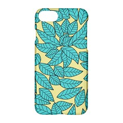 Leaves Dried Leaves Stamping Apple Iphone 8 Hardshell Case by Nexatart
