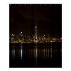 City River Water Cityscape Skyline Shower Curtain 60  X 72  (medium)