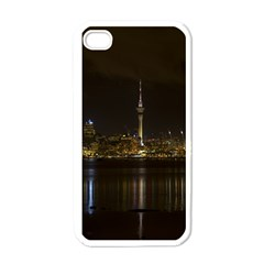City River Water Cityscape Skyline Apple Iphone 4 Case (white) by Nexatart