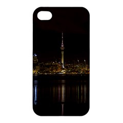 City River Water Cityscape Skyline Apple Iphone 4/4s Premium Hardshell Case