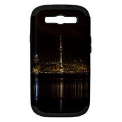 City River Water Cityscape Skyline Samsung Galaxy S Iii Hardshell Case (pc+silicone)