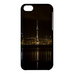 City River Water Cityscape Skyline Apple Iphone 5c Hardshell Case