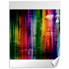 Skyline Light Rays Gloss Upgrade Canvas 36  X 48