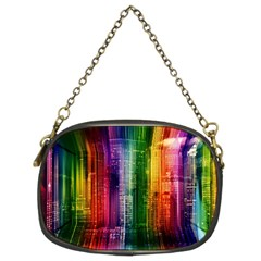 Skyline Light Rays Gloss Upgrade Chain Purse (two Sides)
