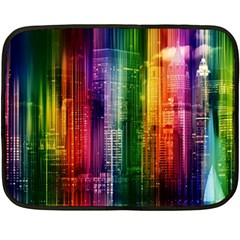 Skyline Light Rays Gloss Upgrade Double Sided Fleece Blanket (mini)