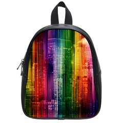 Skyline Light Rays Gloss Upgrade School Bag (small)