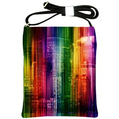 Skyline Light Rays Gloss Upgrade Shoulder Sling Bag