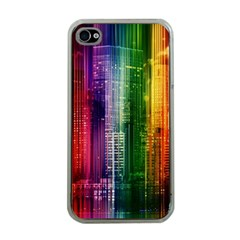 Skyline Light Rays Gloss Upgrade Apple Iphone 4 Case (clear)