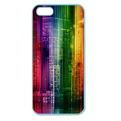 Skyline Light Rays Gloss Upgrade Apple Seamless Iphone 5 Case (color)