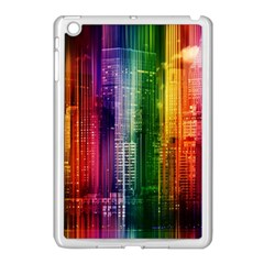 Skyline Light Rays Gloss Upgrade Apple Ipad Mini Case (white)