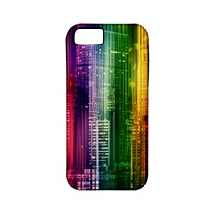 Skyline Light Rays Gloss Upgrade Apple Iphone 5 Classic Hardshell Case (pc+silicone)
