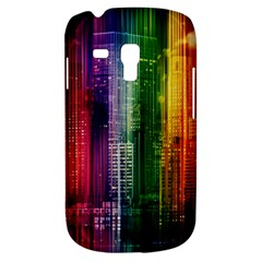 Skyline Light Rays Gloss Upgrade Samsung Galaxy S3 Mini I8190 Hardshell Case