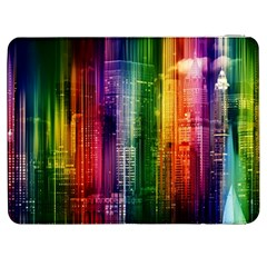 Skyline Light Rays Gloss Upgrade Samsung Galaxy Tab 7  P1000 Flip Case