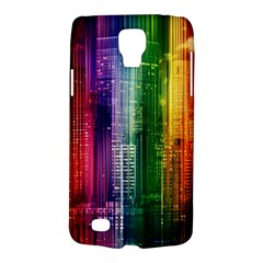 Skyline Light Rays Gloss Upgrade Samsung Galaxy S4 Active (i9295) Hardshell Case