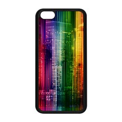Skyline Light Rays Gloss Upgrade Apple Iphone 5c Seamless Case (black)