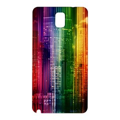 Skyline Light Rays Gloss Upgrade Samsung Galaxy Note 3 N9005 Hardshell Back Case