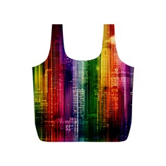 Skyline Light Rays Gloss Upgrade Full Print Recycle Bag (s)