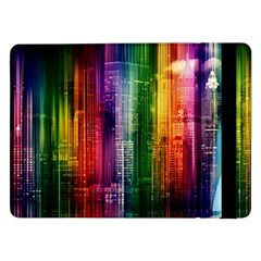 Skyline Light Rays Gloss Upgrade Samsung Galaxy Tab Pro 12 2  Flip Case